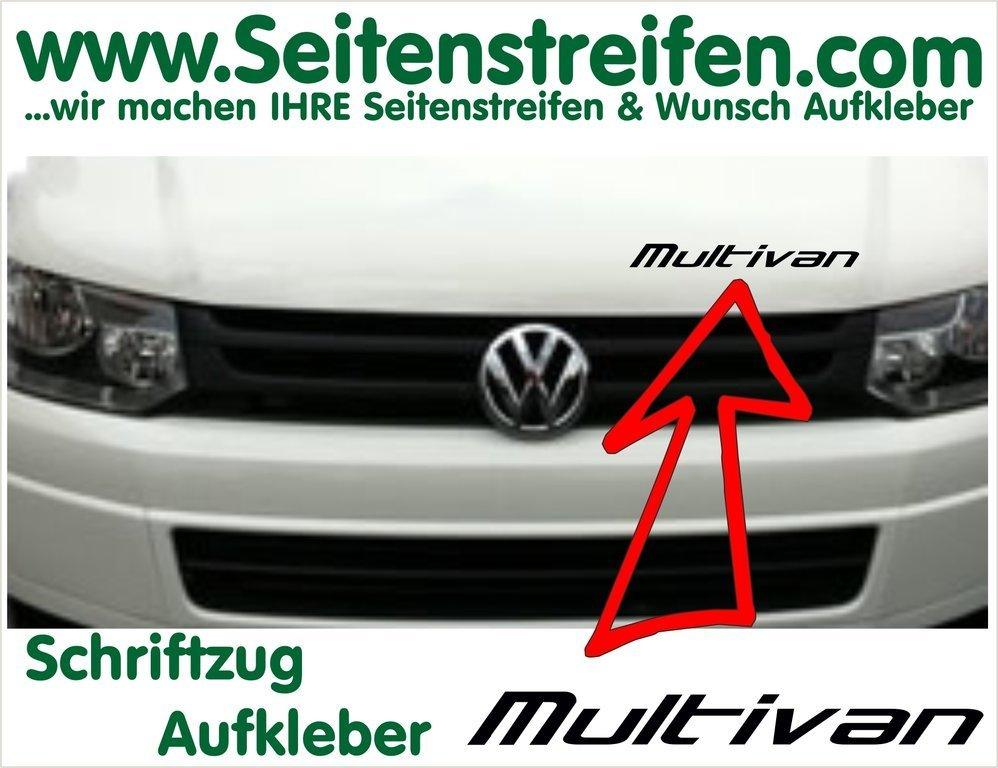 VW T4 T5 T6 Multivan Sticker - set completo de pegatinas laterales  N°:  2015